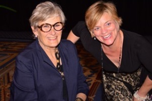 My mentor and dear friend, Myra, the first idealist and feminist I ever knew!
