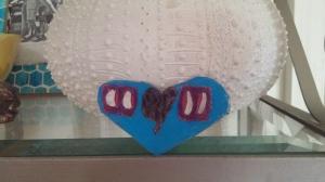 My beautiful handmade heart from my son